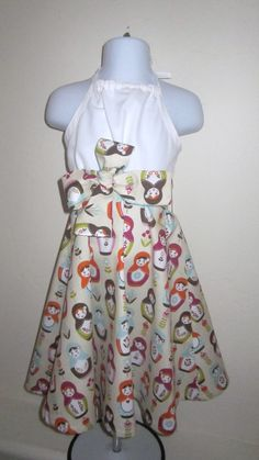 Girls Fall Dress by BBELLECOUTURE on Etsy, $44.95