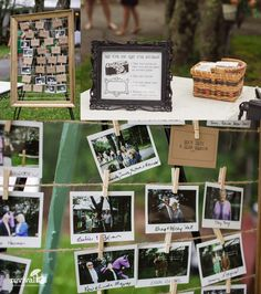 Not only are instant film cameras fun, they also make a great guest book. What a great keepsake for the bride and groom! We love the Fujifilm INSTAX 210 Instant Photo Camera. www.revivalphotography.com