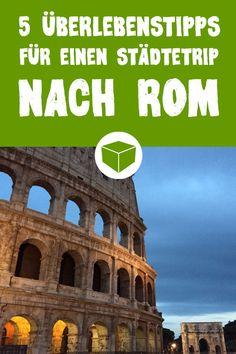 Das sind die 5 wichtigsten Tipps für deinen Städtetrip nach Rom. #urlaub #reisen #italien #rom #reisetipps #verreisen #kurztrip