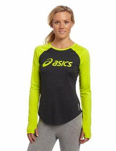 Amazon.com: ASICS Women's Ryleigh Long Sleeve Tee Shirt, Medium, Spearmint Green: Sports & Outdoors