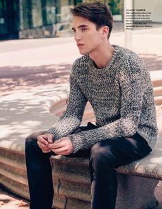nice knit sweater…