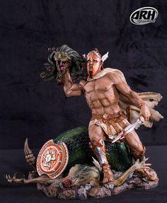 ARH Studios Statue 1/6 Perseus Vs Medusa 33 cm