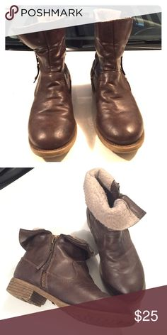 Jelly pop Brown boots Jelly pop Brown ankle boots jelly Pop Shoes Ankle Boots & Booties