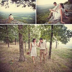 Real Wedding: Becca + Brooks Camp Wedding