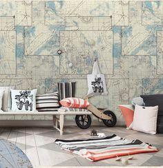 sloophout behang slaapkamer - Google zoeken