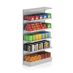 Cookie snacks shelving stores supermarket shelf price