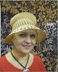 """Шляпы ручной работы. Ярмарка Мастеров - ручная работа. Купить Шляпа  """"Горожанка"""". Handmade. Шляпа с полями, для дам, путешествия, эксклюзив"""