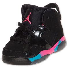 #ToddlerTuesdays Jordan Retro VI Toddler Shoes at Finish Line. Shop toddler shoes here: http://finl.co/NLbfs4 $49.99