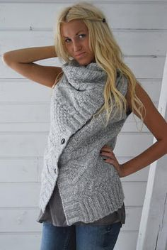 Another comfy sweater...yum!