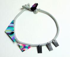 Szamanka Design Spring 2013 - Gray Bound Choker