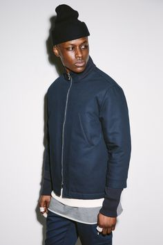 the cleanest line from Aimé Leon Dore. Aime Leon Dore, Street Trends, Casual Wear For Men, Male Magazine, Twill Pants, Best Mens Fashion, Men's Wardrobe, Lookbook, Spring Summer 2015