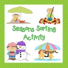 seasons books and activities preschool weather seasons pinterest seasons activities and book. Black Bedroom Furniture Sets. Home Design Ideas