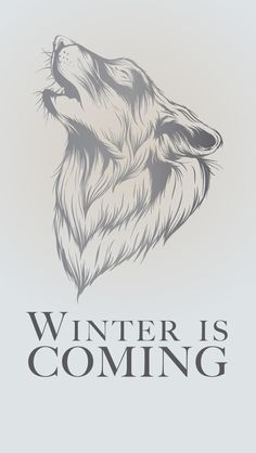Game of Thrones Direwolf phone wallpaper