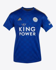 Leicester City adidas Home Kit - Todo Sobre Camisetas Leicester City Football, Leicester City Fc, Premier League, Adidas, City Quotes, Junior Shirts, King Power, Soccer Kits, Kids Sports