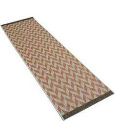 Fairmont Flatwave Herringbone Runner 70x230cm - Terracotta. Bike Room, Rugs And Mats, Spare Room, Herringbone, Terracotta, Ideal Home, Beach Mat, Outdoor Blanket, Stuff To Buy
