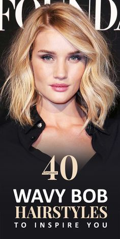 gorgeous wavy bob hairstyles to inspire you epic 1000 images about chic hairstyles on 40