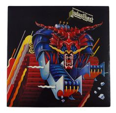 Vintage 80s Judas Priest Defenders of the Faith Metal Album Record Vinyl LP by DopedollVintage on Etsy https://www.etsy.com/listing/212177905/vintage-80s-judas-priest-defenders-of