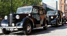 Vintage black cab (City of London taxis)