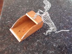 Vintage Wooden Scoop by CottageWelcome on Etsy