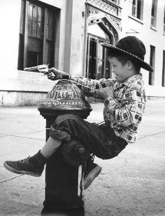 Benn Mitchell - Boy On A Fire Hydrant, 1951.
