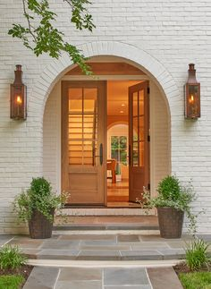 Exterior detail of arched entry American Architectural Details TraditionalNeoclassical Portico Entryway Architectural Detail by Thomson & Cooke Architects