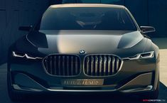 BMW's 'Vision Future Luxury' Concept Points to Next-Gen 7-Series