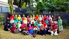 Groufie KAHMI Forever Alumni HMI Wati,  Sabtu 16 April 2016 di Kebayoran Baru Jakarta Selatan.