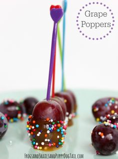 Grape Poppers - FSPDT