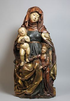 Anna Selbdritt (ca. 1480, Metropolitan Museum, New York)