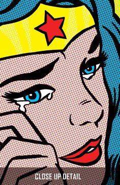 Pop Art Wonder Woman roy lichtenstein