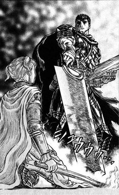 Berserk - Farnese and Guts