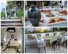My photo montage D'art Kamila Exhibition in La Marsa Tunisia, Rock the Kasbah design Philippe Xerri, Residence French Ambassador in Tunisia