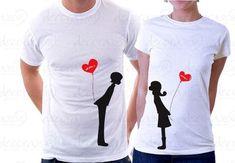 camisetas personalizadas para novios originales - Buscar con Google
