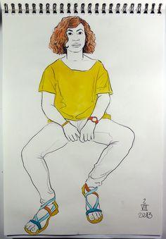 Ana Lorca, actriz.