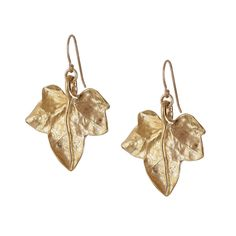 Chupi Wild Ivy Earrings in Gold