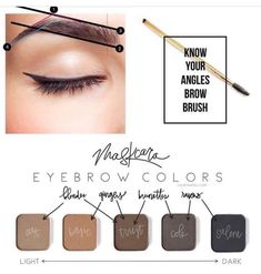 Multipurpose 🙌🙌 you can use maskcara eyeshadow colors or maskcara contours to fill and shape your brows! This makeup is so versatile and fun! Eyeshadow For Blue Eyes, Makeup For Brown Eyes, Eyeshadow Looks, Maskcara Makeup, Maskcara Beauty, Body Makeup, Skin Makeup, Beauty Nails, Beauty Makeup
