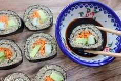 Clean Eating Quinoa Sushi (add fish for a great meal!)