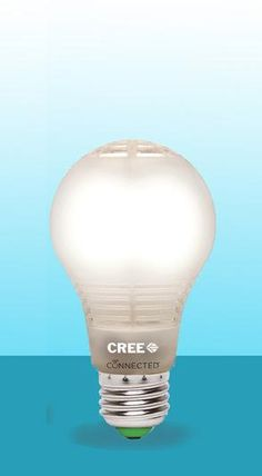 The new Cree connected LED lightbulb.