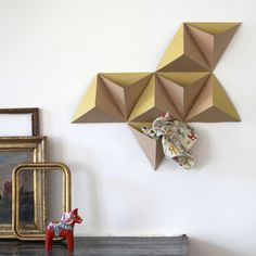 Boîtes murales Tri-Angles Papier Tigre   39.00 minimall