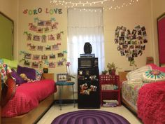 Courtney's dorm room was chosen to be posted on the Baylor Pride Pintrest!  This was her Sophomore year (2012-13)room at South Russell (nicknamed SORO, hence the sign on the wall).