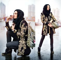Beautiful baroque patterned jacket