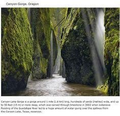 39 endroits à visiter avant de mourir   endroits a visiter avant de mourir canyon lake gorge