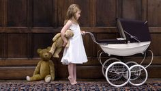 Silver Cross – a doll's pram fit for a princess