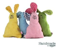 Spongy Bunny - Bathtime Lovey - Bath Toy from akp handmade Scrap Fabric Projects, Fabric Scraps, Craft Projects, Sewing Projects, Bath Toys, Baby Crafts, Handmade Baby, Toddler Toys, Baby Sewing