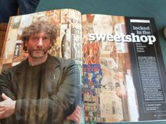 """Neil Gaiman's article in Poets & Writers Talking about """"The Ocean at the End of the Lane""""."""