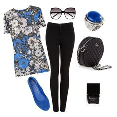 LOVE BLACK AND BLUE!!, created by ilykinsleigh1011 on Polyvore