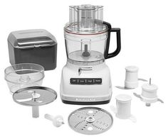 KitchenAid - 11-Cup Food Processor - White, KFP1133WH