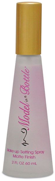 Model in a Bottle Make up Setting Spray - Matte Finish. Just got it, already in love with it. LOCK & LOAD, makeup wont go ANYWHERE