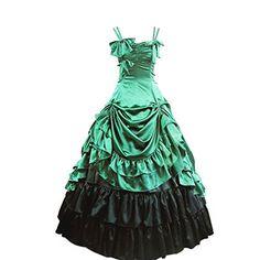 Partiss Damen ärmellose Kleid gotische viktorianische Lolita Ballkleid Ruffles Abendkleid(XS,Green) Partiss http://www.amazon.de/dp/B00EC132Y4/ref=cm_sw_r_pi_dp_xRw6vb0ZKNGTY