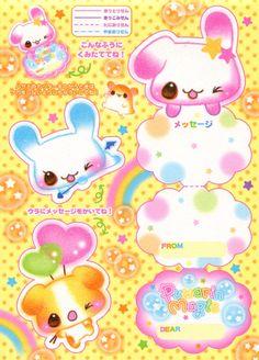 Kawaii card printable